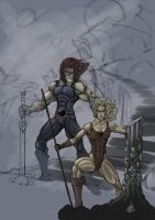 thundercats color unfinished by MadVoske
