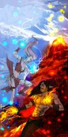 Summer and Winter Wars by the-evil-legacy