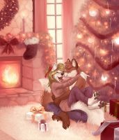 Le veritable esprit de Noel by Little-shewolf9