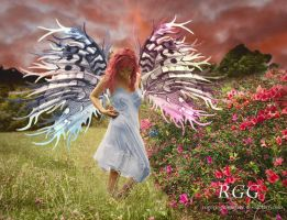 Dawn Spring Fairy by RogerioGuimaraes
