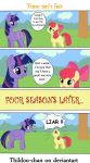 Time isn't fair ::My Little Pony:: by Thildou-chan