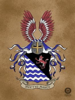 Coat of arms (commission) by Thalathis