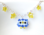 Owl Star Necklace by SparkleMeHappy