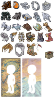 Puzzle Plot Items and Prizes by EmphasisMine