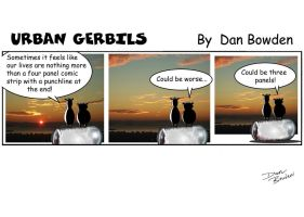 Urban Gerbils. Sunset by DannoGerbil