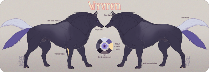 Wyvren Reference by Anti-Dark-Heart