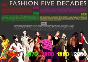 Fashion Five Decades by thornandes