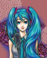 Vocaloid Hatsune Miku by galazy