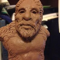 Bigfoot Maquette by monkeythe13th