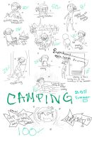 Camping by GodessFae