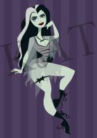 Lily Munster by KatisMrsLovett