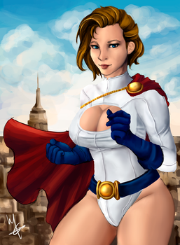 Power Girl remake (: by palchango