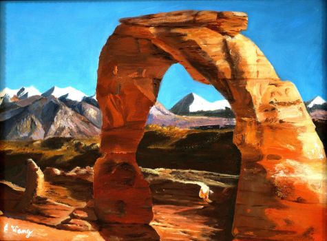 Delicate Arch by Rrgrg