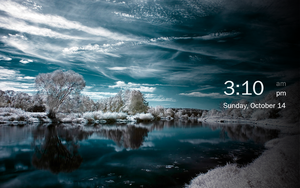 Tablet Lock Screen Concept 2 by gifteddeviant