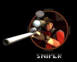 TF2 Sniper by The-Loiterer