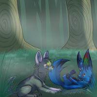 Don't Do it in the Forest by Naoki-Wolf