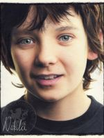 Asa  Butterfield - Oil Pastels by NataliesCourageClub
