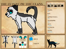 FOC: Icepaw Of RippleClan by EllaScout