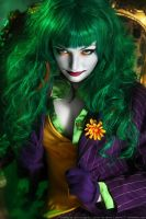 Female Joker cosplay 3 by HydraEvil