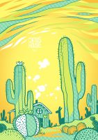 Cactus House by Ponchounette