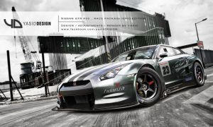 Nissan GTR R35  Race Package_GRID Edition _Version by yasiddesign
