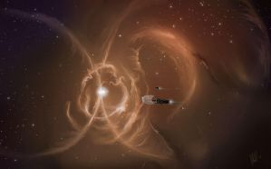 Hunting through Nebula by mawgallery