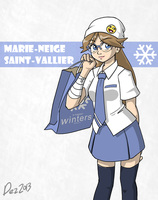 Character bio - Marie-Neige by OmegaDez