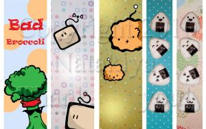 Bookmark Sampler by Natakiya
