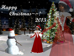 Happy Christmas~~! 2013 by DressphereMasterYuna