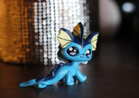 Vaporeon version 2 LPS custom by pia-chu
