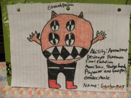 Fakeamon: Garbanor by Bowser14456