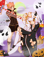 [DTA-Entery-Zombutts] Happy Halloween by Sealestial