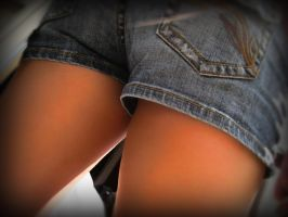Hay.. Nice Legs and Ass by Mike-Williams