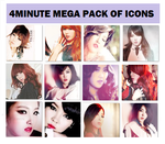 4MINUTE MEGA PACK OF ICONS by PJopE