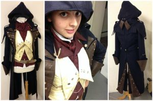 Arno Dorian - Assassins Creed - Costume progress 2 by ImaginaryCostume