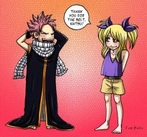 Natsu and Lucy - Chapter 350 by Eva-Dudu