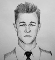 Joseph Gordon Levitt portrait by ninjason57
