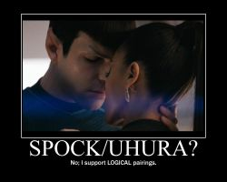 Spock-Uhura demotivational by Aevylonya