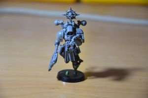 Space Marine Librarian conversion WIP by hahli87942