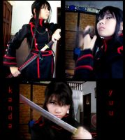 random kanda yuu cosplay by shien7aries