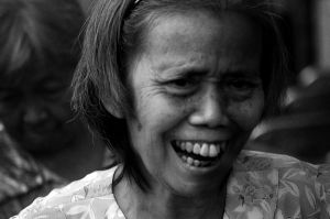 Laughing Woman by wilmil