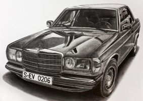 Mercedes-Benz 280CE C123 by sergini0