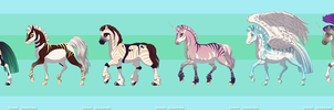 5 Points!!!Horse Adopts 9 OPEN by Akssel-Adopts