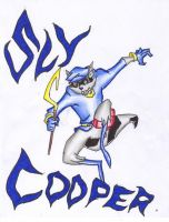 Sly Cooper by Enerdyte