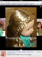 American Girl Doll Hair by CassidyLynne1