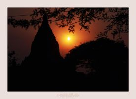 My First Sunset At Bagan by wickedbleu