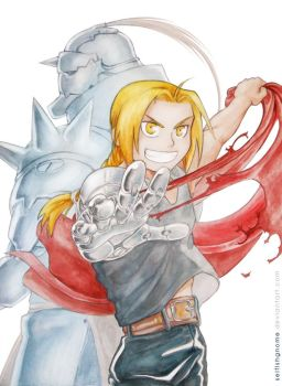 FMA Ed and Al by Adorael