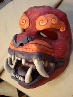Foo mask paint by missmonster