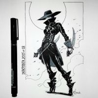 Vampire hunter by Koveck