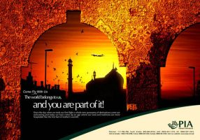 PIA Domestic LHR Ad by creavity
